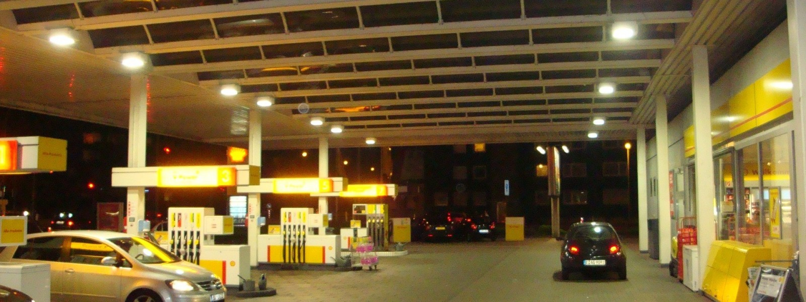 Project: Shell Benzinestation